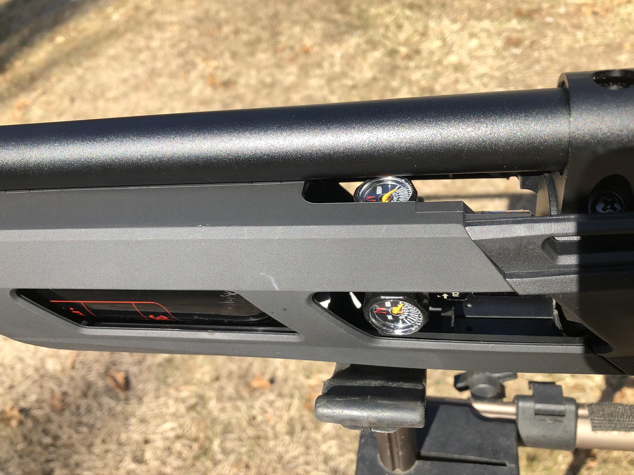 Ninja 22ci//3000PSI Extended Tank PCP Air Rifile UMAREX GAUNTLET 2100psi Output
